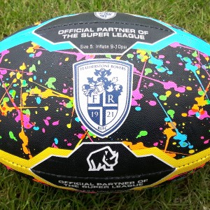 Rovers Graffiti Rugby Ball SIZE 5