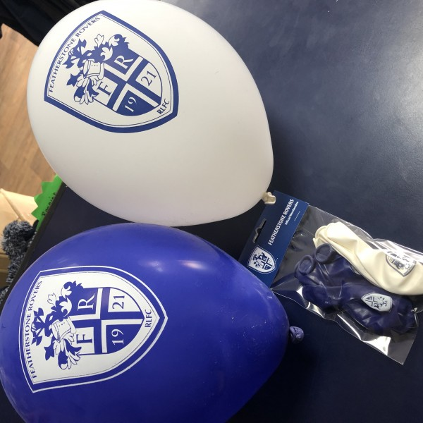 FEATHERSTONE ROVERS BALLOONS