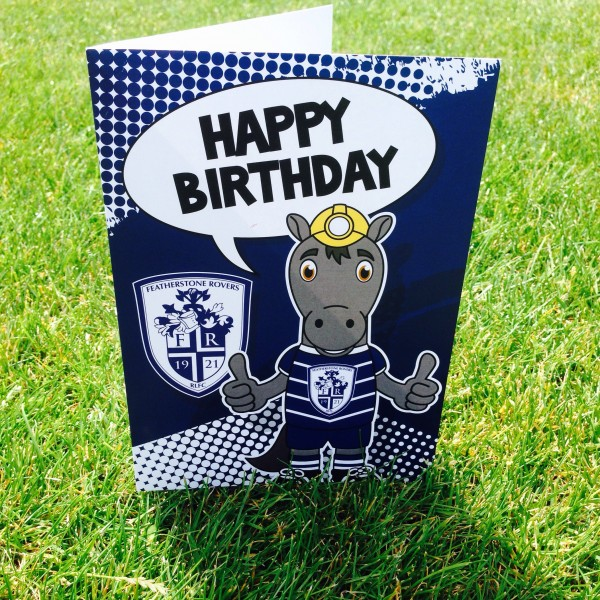PERCY BIRTHDAY CARD - LARGE