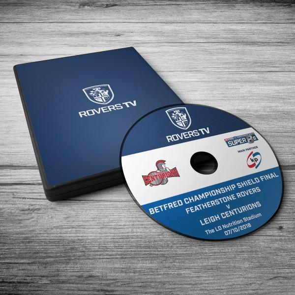 MATCH DVD: ROVERS V CENTURION (SHIELD FINAL)