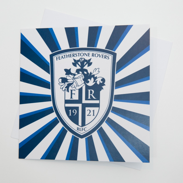 FEATHERSTONE ROVERS CREST GENERIC CARD