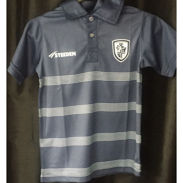 KIDS POLYESTER POLO NAVY