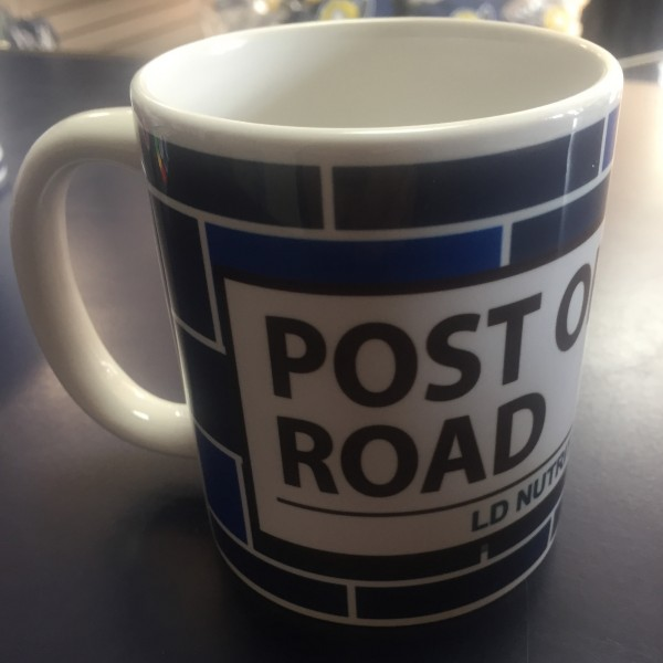 Post Office Road Mug