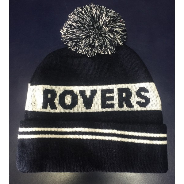 ROVERS WHITE STRIPE BEANIE