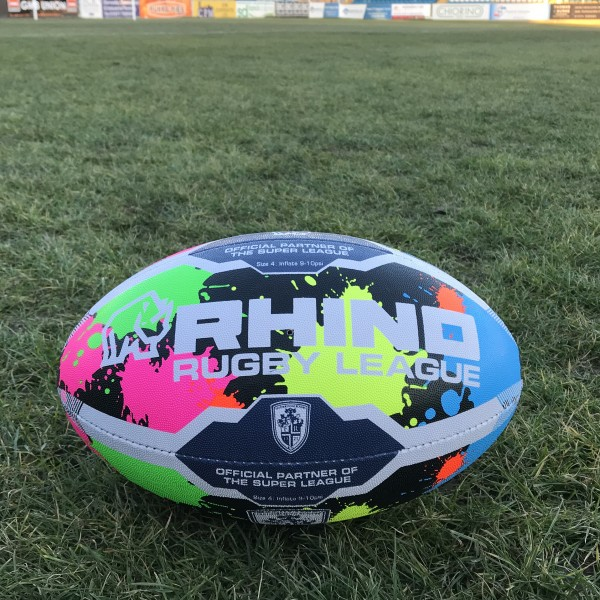 Rovers Graffiti Rugby Ball SIZE 4