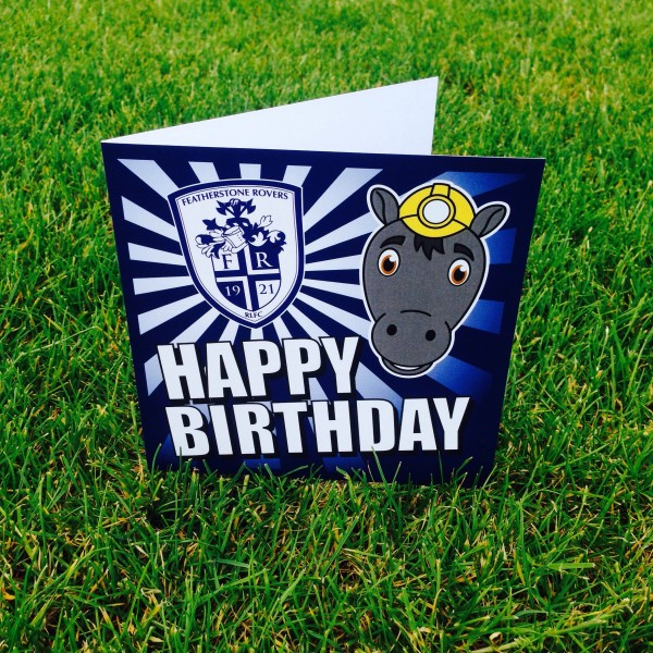 PERCY BIRTHDAY CARD - SMALL