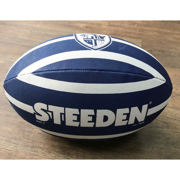"STRIPE RUGBY BALL - SIZE 11"", 3,4,5"