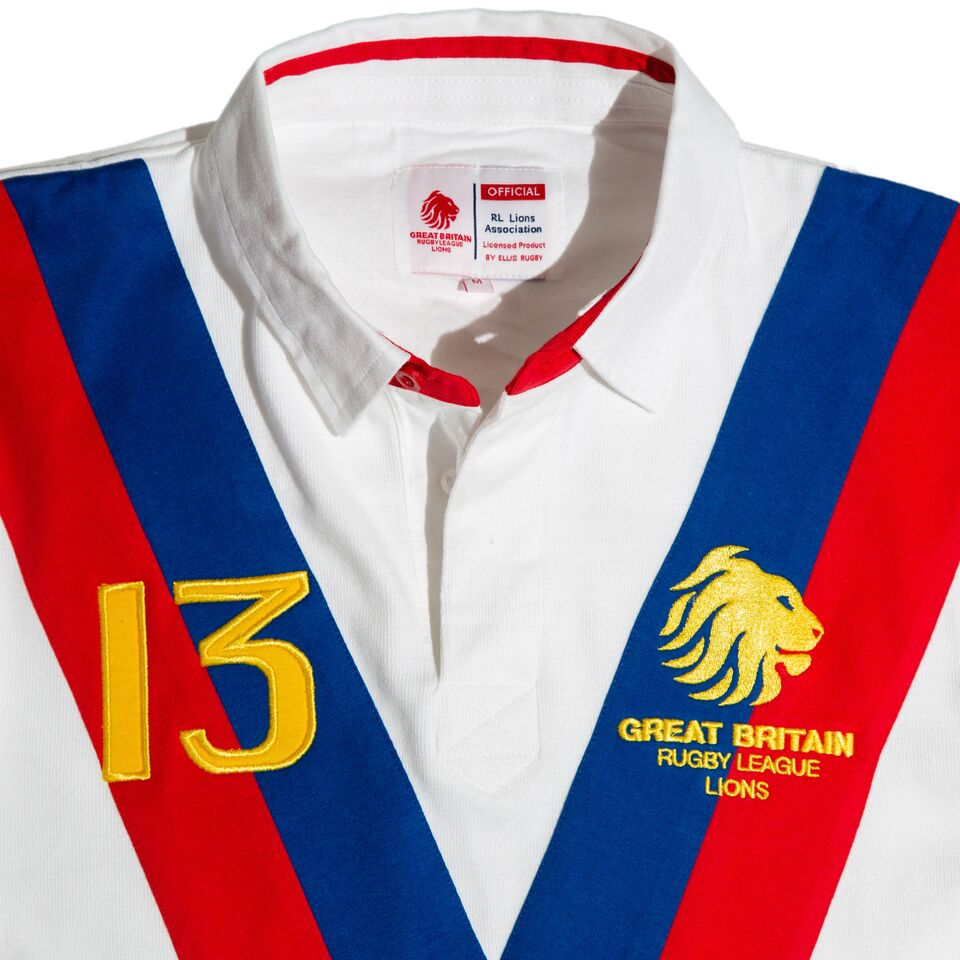 3660bd4b7ac GREAT BRITAIN RUGBY LEAGUE JERSEY