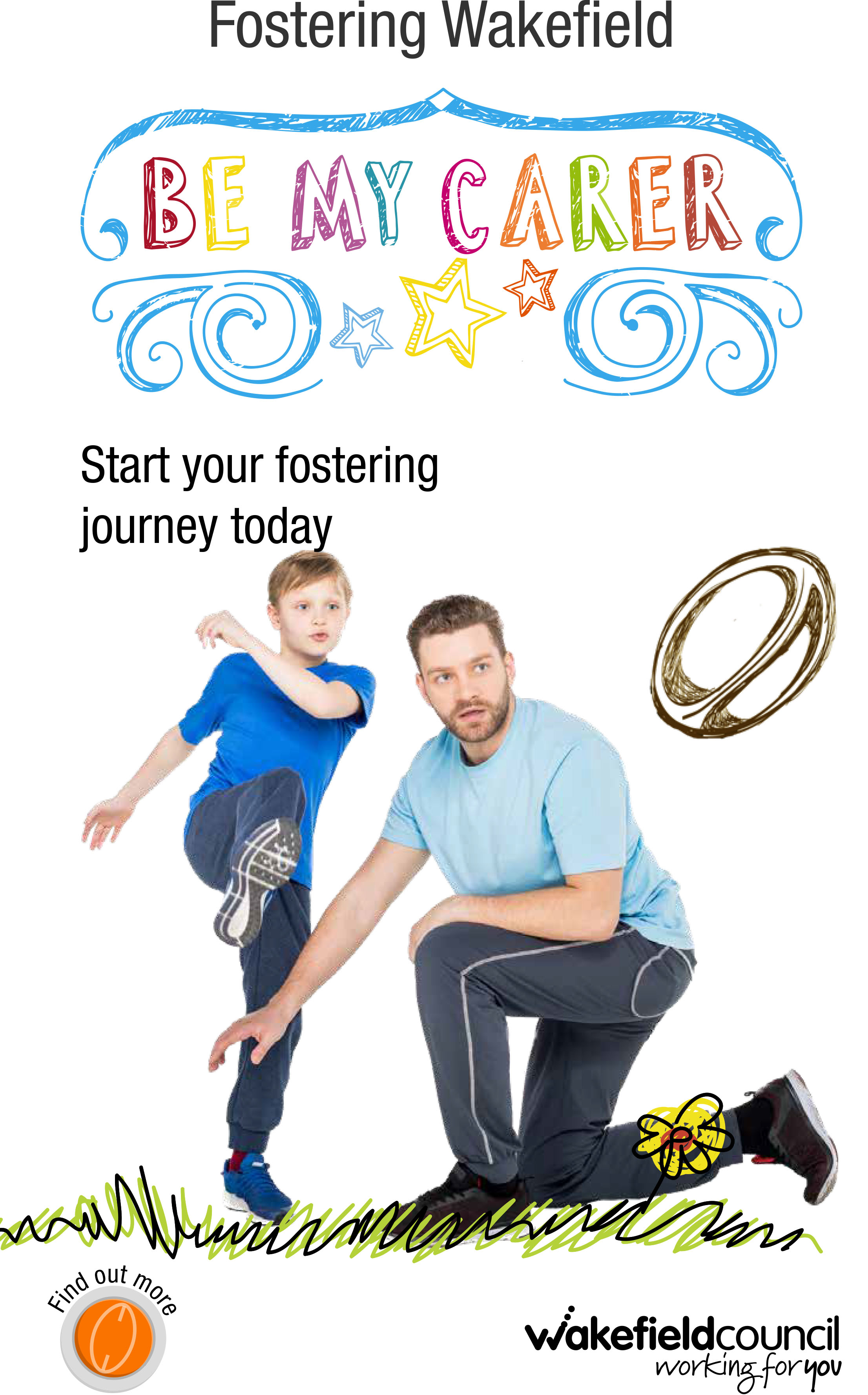 Fostering Featherstone Rovers Advert